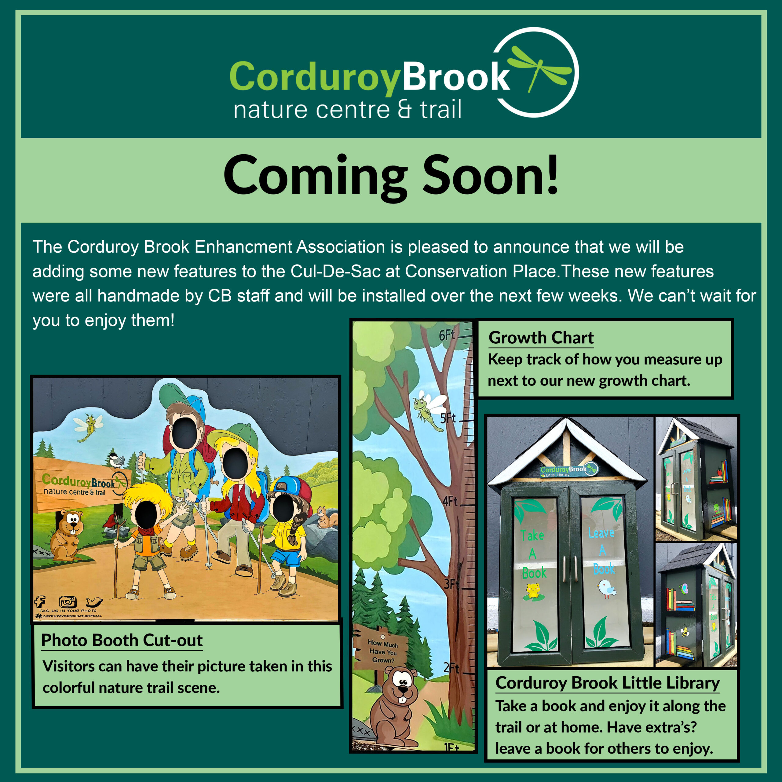 Coming Soon to Conservation Place Cul-de-sac