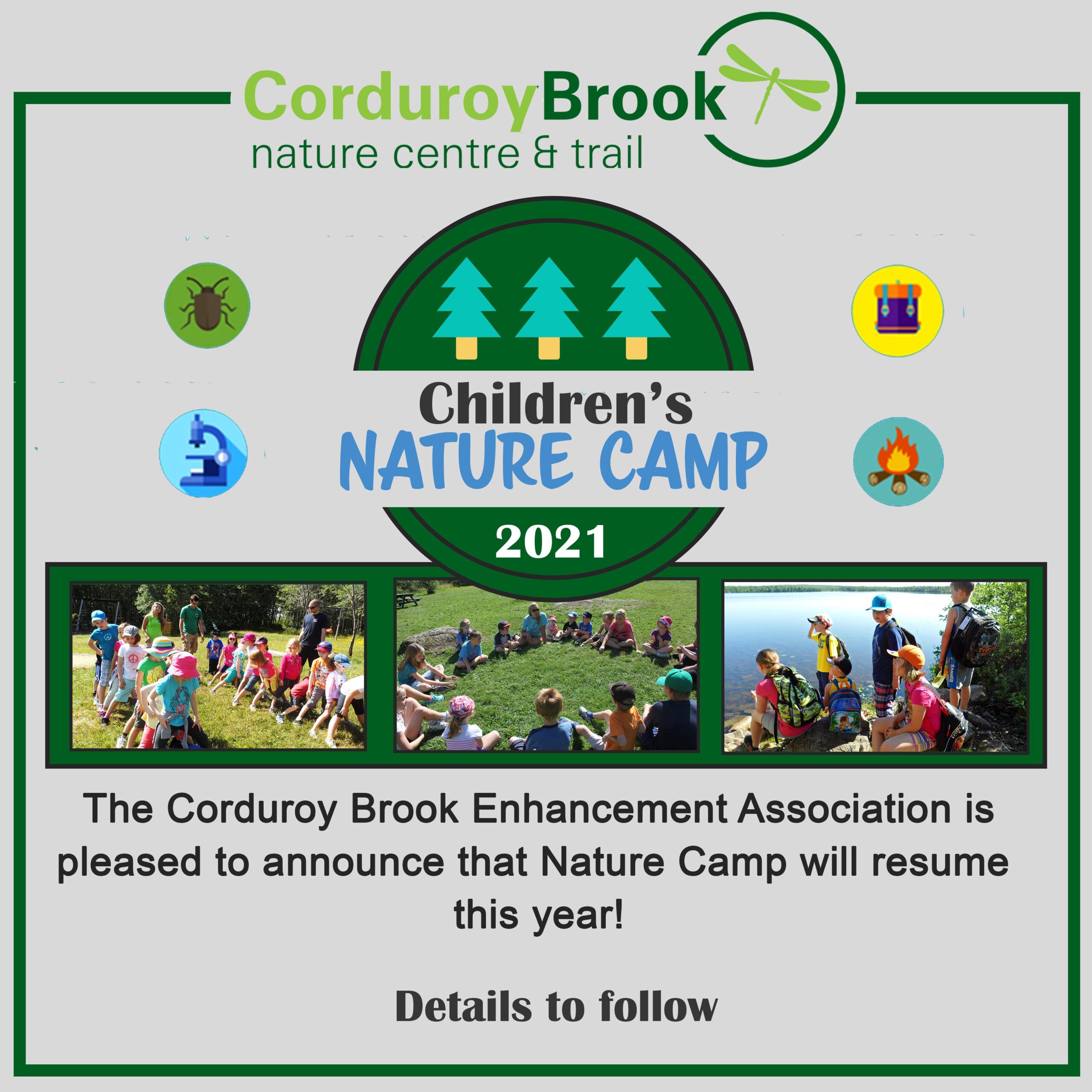 Corduroy Brook Summer Nature Camp 2021